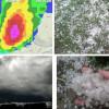 Nevrijeme s tučom u Srbiji, tornado u Mađarskoj (FOTO, VIDEO)