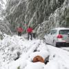 Vremeplov: Prije točno godinu dana drastično zahlađenje i snijeg (FOTO)