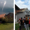 Okolicu Gradiške u BiH pogodila pijavica koja je rušila krovove (FOTO)