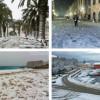 Prije točno 7 godina ciklona Tara donijela je snijeg sve do otoka! (VIDEO)