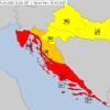 Tri bitna upozorenja: Bura, snijeg, obilna kiša na jugu