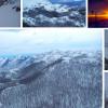 Na Biokovu osjet hladnoće od -22°C: Pogledajte višemetarske nanose i čaroban zalasak na Svetom Juri
