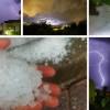 Obilne oborine i poplave u unutrašnjosti, dio Dalmacije zabijelila tuča (FOTO)