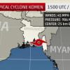 Bengalski zaljev: Tropska ciklona Komen usmrtila najmanje 27 ljudi