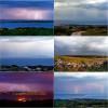 Ciklona Pamela  u slikama