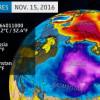 Na Sjevernom polu temperatura porasla  iznad 0°C, u Rusiji do -40°C