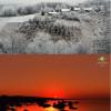 Zimski solsticij uz zimu u nizinama unutrašnjosti i proljeće na Jadranu